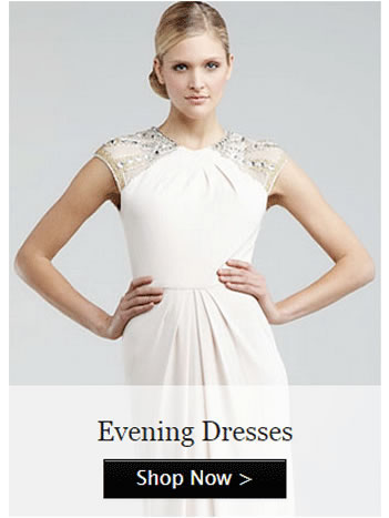 custom made evening dresses